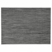 СНУББИГ Салфетка под приборы, темно-серый, 45x33 см