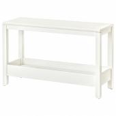 ХАВСТА Консольный стол, белый, 100x35x63 см
