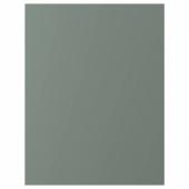 БОДАРП Накладная панель, серо-зеленый, 62x80 см