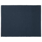 МЭРИТ Салфетка под приборы, темно-синий, 35x45 см