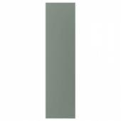 БОДАРП Накладная панель, серо-зеленый, 62x240 см