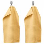 ВОГШЁН Полотенце,светло-желтый