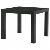 ЛАКК Придиванный столик,черный